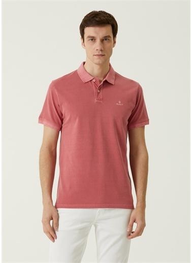 Gant Polo Yaka T-shirt Kırmızı